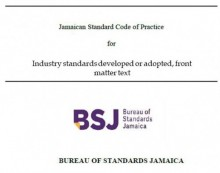 JS 292 2001 - Jamaican Standard Specification for Industrial Sewing Threads made from Linen (flax) or Cotton